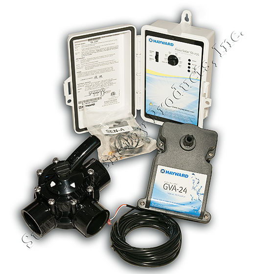 Hayward Goldline GL-235 Solar Pool Control Combo Package